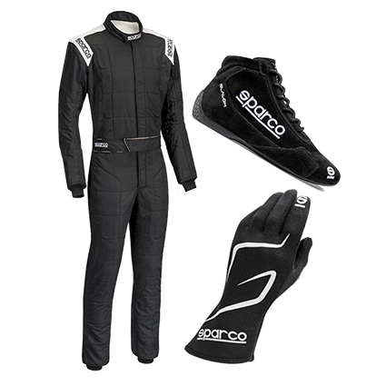 Sparco Conquest Racewear Package Black